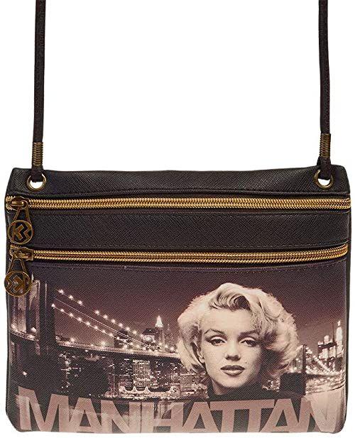Marilyn Monroe Manhattan-Action Mini pozioma torba na ramię