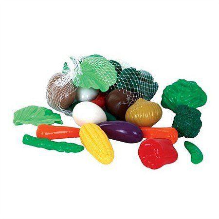 Zestaw warzyw, 28 elementów, GW45603-Gowi, zabawa w gotowanie, zabawa w sklep
