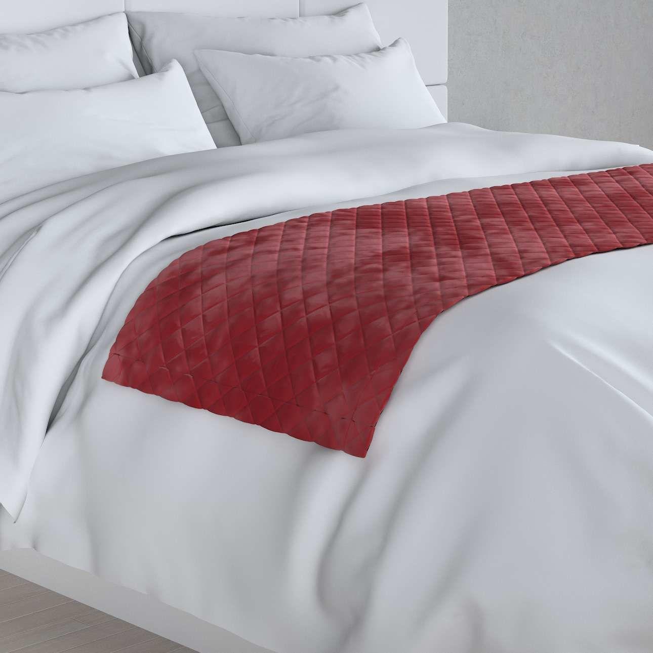 Narzuta hotelowa bieżnik Velvet 60x200cm, intensywna czerwień, 60 x 200 cm, Velvet