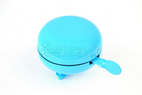 Dzwonek rowerowy BIGBELL alu niebieski 80mm 1 sztuka