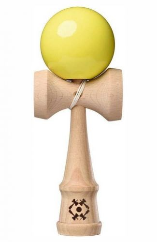 Tribute Kendama Neon Yellow