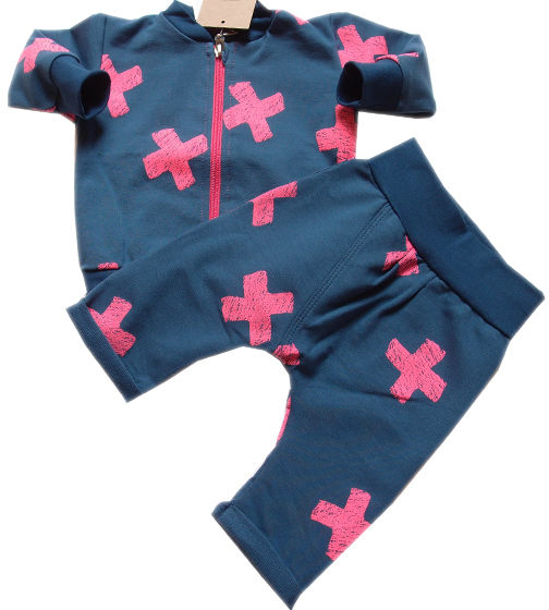 Dresy dziecięce bluza i spodnie Iksik