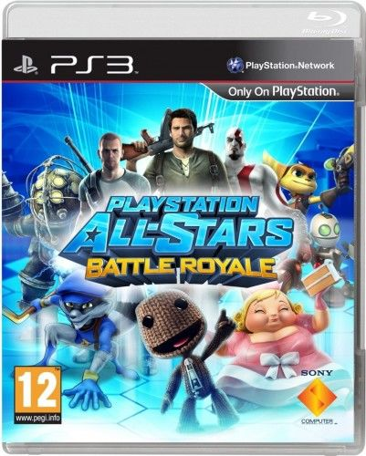 PlayStation All-Stars Battle Royale PS 3