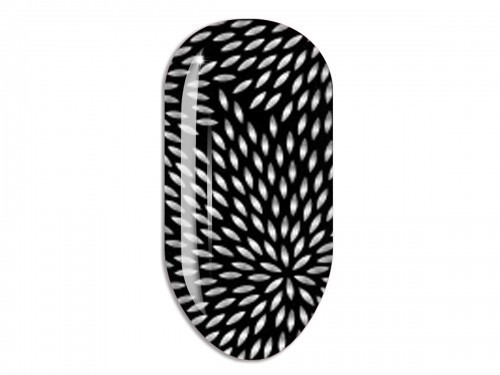 Nail Art Stikers Mollon Pro F023S naklejki do zdobienia