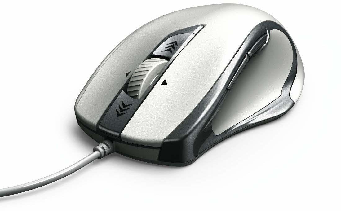 Hama Torino USB optyczny 1200DPI lewa ręka srebrna, biała mysz - myszy (lewa ręka, optyczna, USB, 1200 DPI, srebrny, biały)