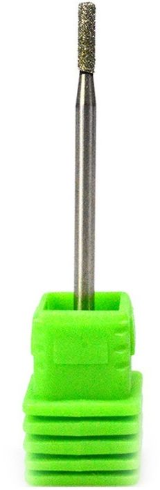 Frez diamentowy do skórek mocny B0207D C zielony