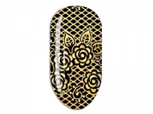 Nail Art Stikers Mollon Pro F035G naklejki do zdobienia