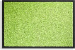 Dywan do wejścia, Twister  fuksja  40 x 60 cm  antypoślizgowy spód z winylu, limonkowa zieleń, 40 x 60 cm
