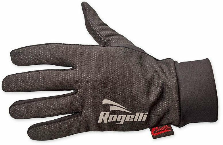 ROGELLI LAVAL cienkie rękawiczki sportowe, membrana 006.109 czarne Rozmiar: XL,rogelli-laval