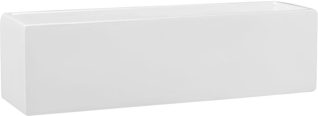 Donica z włókna szklanego D109S biały połysk