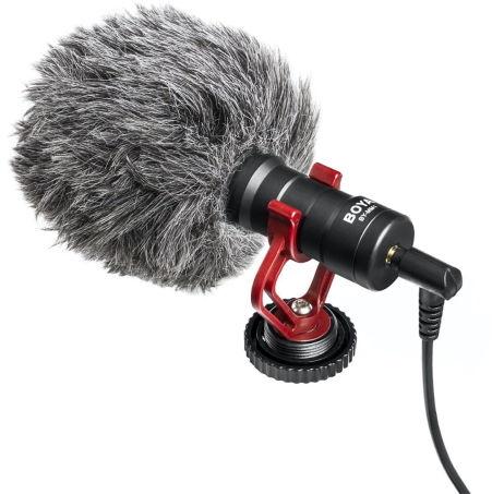 Boya BY-MM1+ - superkoroidalny mikrofon typu Shotgun
