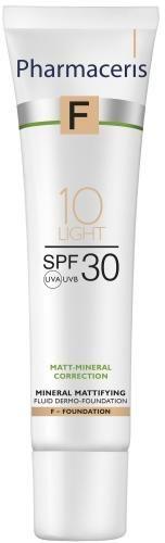 Pharmaceris F mineralny dermo-fluid matujący 10 Light SPF 30 30 ml
