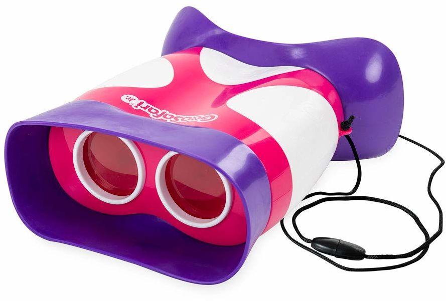 Learning Resources EI-5260-P GeoSafari Jr Kidnoculars lornetka dla dzieci w kolorze różowym