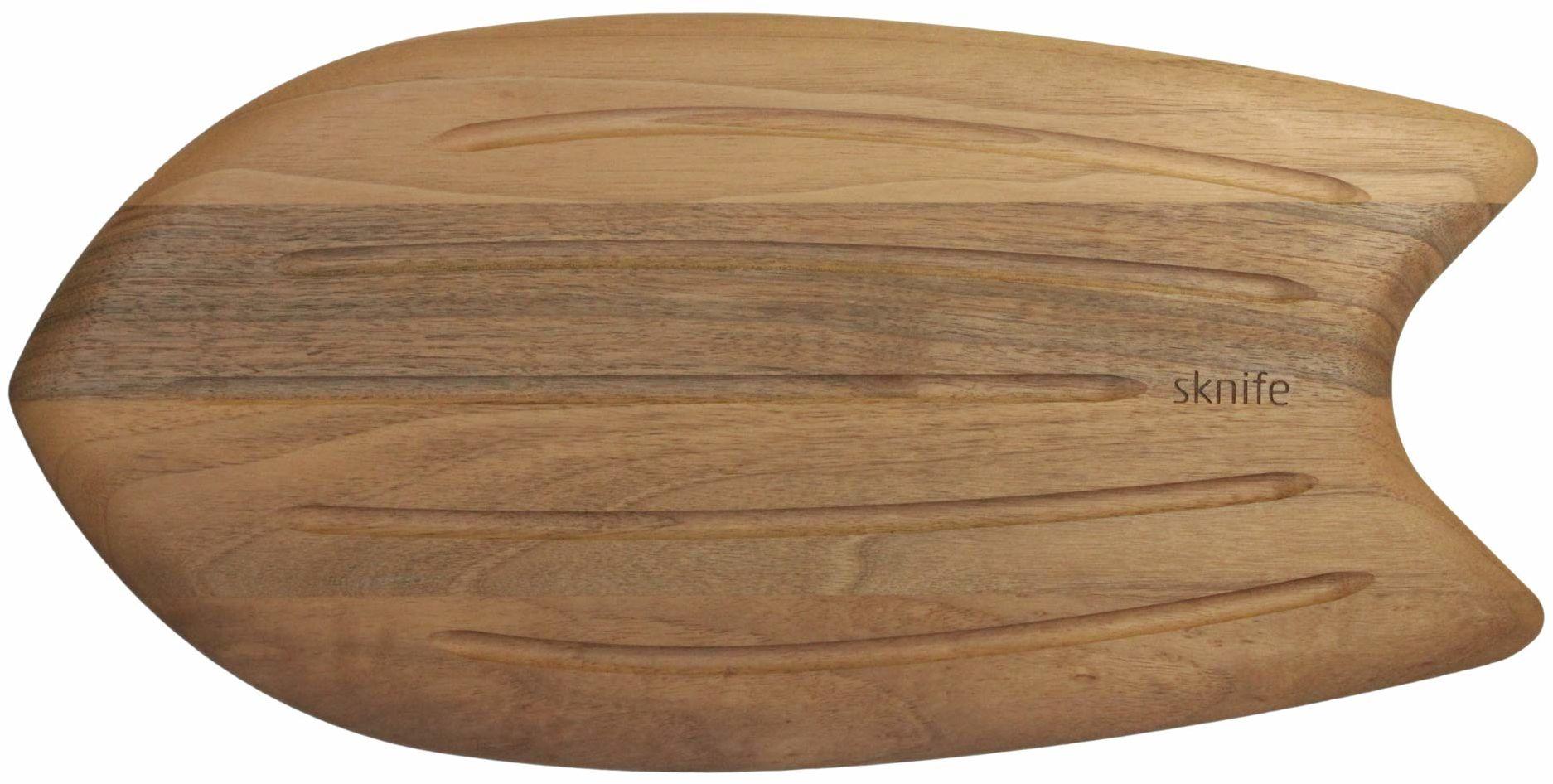 Sknife SKT48WB Surf deska do krojenia z orzecha włoskiego do ławki, drewna