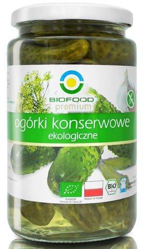 Ogórki konserwowe BIO 700g Bio Food