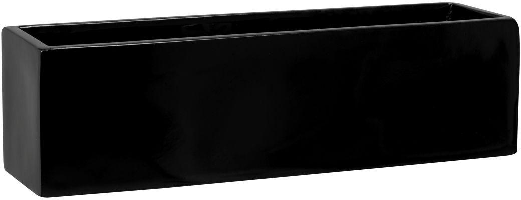 Donica z włókna szklanego D109S czarny połysk