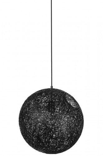 Lampa wisząca Luna czarna