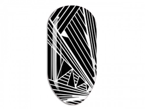 Nail Art Stikers Mollon Pro F069W naklejki do zdobienia