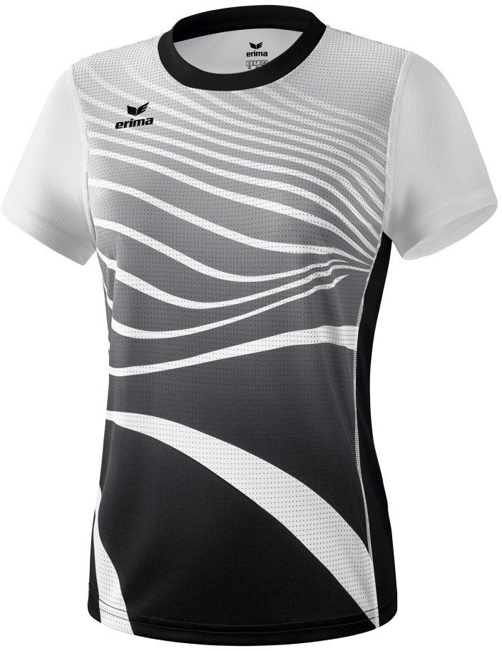 Erima damska koszulka Athletic, czarno-biała, 34