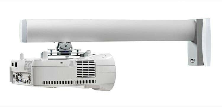 SMS Short Throw V uchwyt ścienny 1450mm aluminium/biały