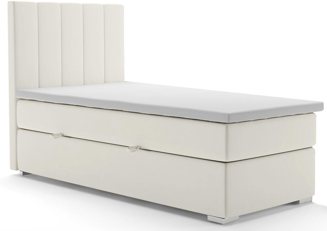 Pojedyncze łóżko boxspring Kongo 80x200 - 58 kolorów