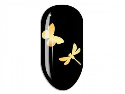 Nail Art Stikers Mollon Pro F072G naklejki do zdobienia