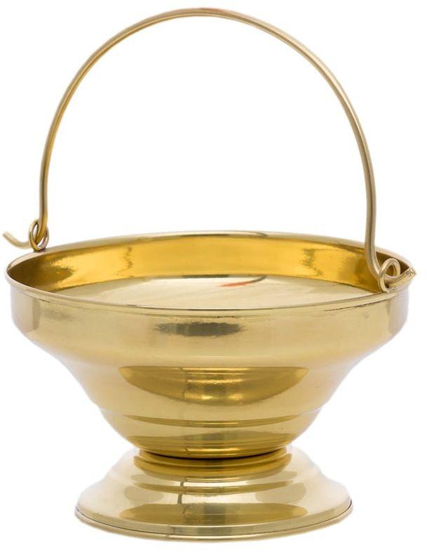 Miska do wody święconej mosiężna