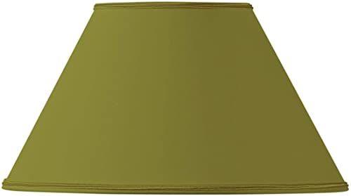Klosz lampy w kształcie wiktoriańskim, 20 x 09 x 12 cm, zielony/brąz