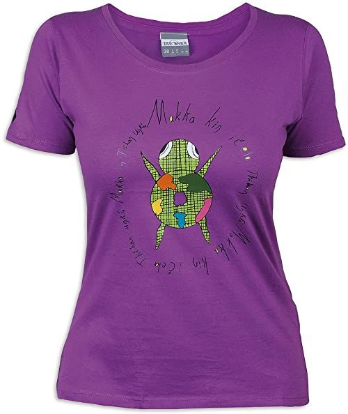 Tatonka Damski T-shirt Makha, byzantium, 42, C163_730