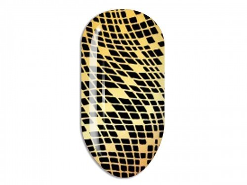 Nail Art Stikers Mollon Pro F079G naklejki do zdobienia