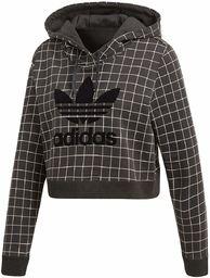 adidas CLRDO damska bluza z kapturem, czarna, 44