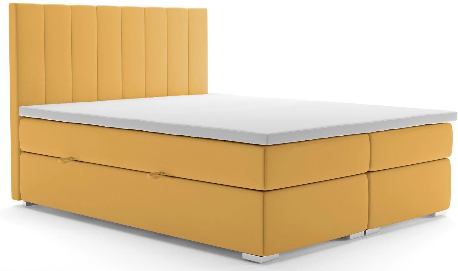 Dwuosobowe łóżko hotelowe Kongo 160x200 - 58 kolorów