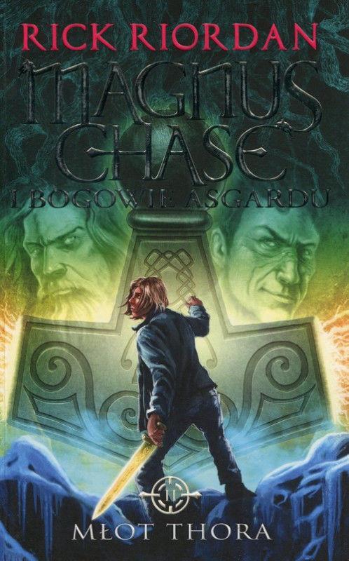 Magnus Chase i bogowie Asgardu Tom 2 Młot Thora ZAKŁADKA DO KSIĄŻEK GRATIS DO KAŻDEGO ZAMÓWIENIA