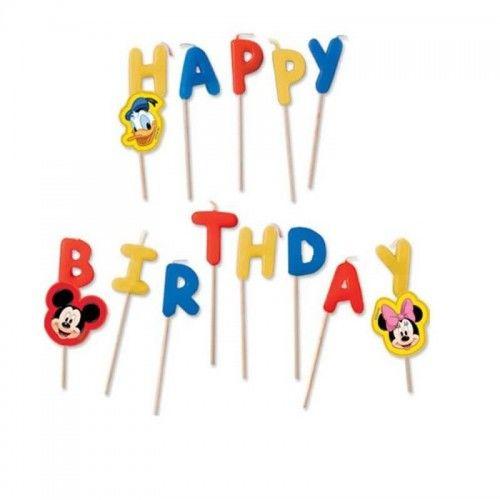Świeczki pikery urodzinowe Mickey Mouse Club House