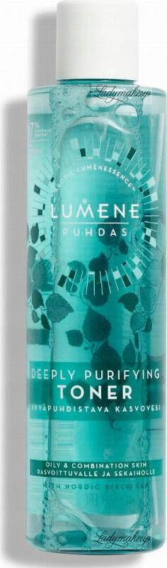 LUMENE - PUHDAS - Deeply Purifying Toner - Głęboko oczyszczający tonik do twarzy - 200 ml