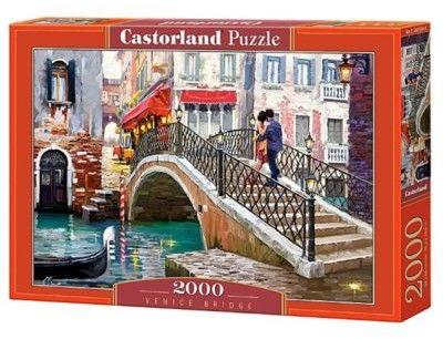 Puzzle Castorland 2000 - Most w Wenecji, Venice Bridge