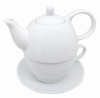 Zaparzacz porcelanowy do herbaty z kubkiem Nerthus FIH 555