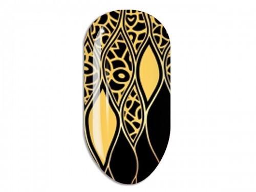 Nail Art Stikers Mollon Pro F085G naklejki do zdobienia