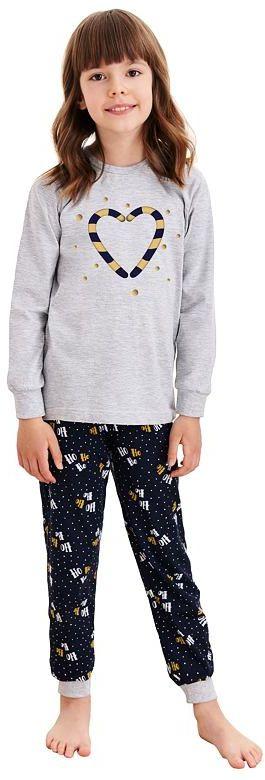 Piżama dziewczęca Ada z świątecznymi