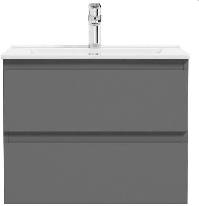 Oltens Vernal szafka 60 cm podumywalkowa wisząca grafitowa 60000400