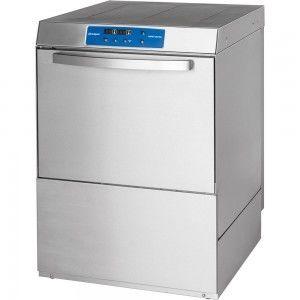 Zmywarka do naczyń z dozownikiem płynu myjącego i pompą spustową 500x500 Stalgast 801556