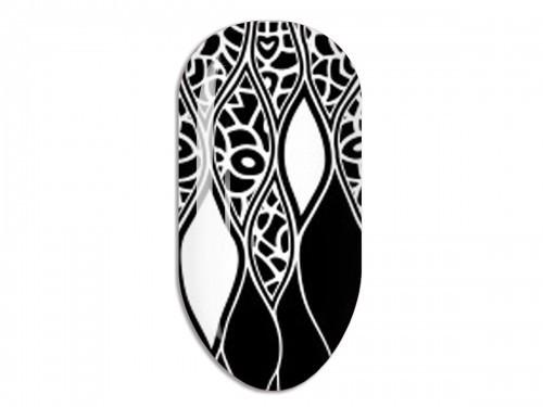 Nail Art Stikers Mollon Pro F085W naklejki do zdobienia