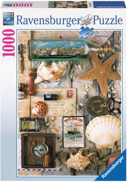 Puzzle Ravensburger 1000 - Morskie znaleziska, Sea finds