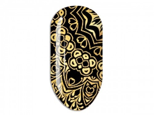 Nail Art Stikers Mollon Pro F087G naklejki do zdobienia