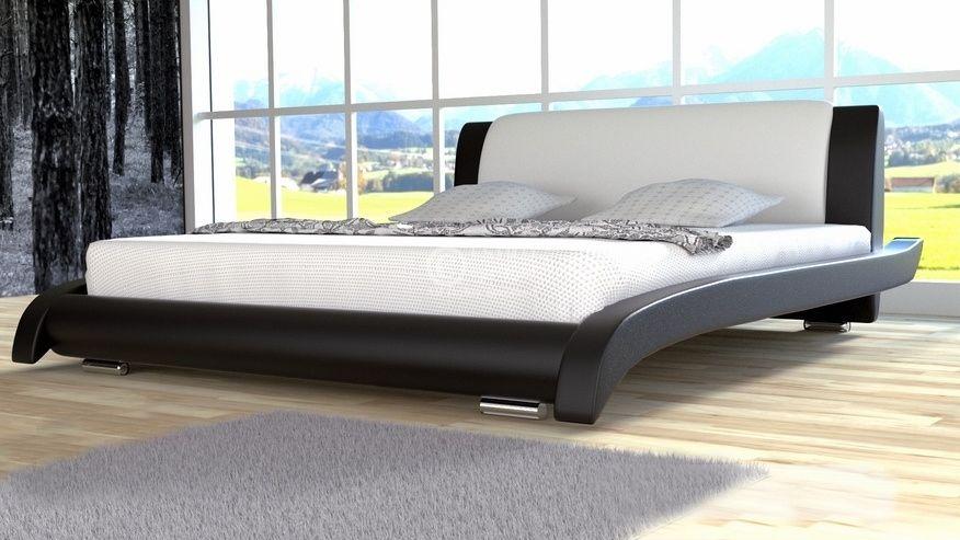 Łóżko tapicerowane Lotos 140x200 - tkanina