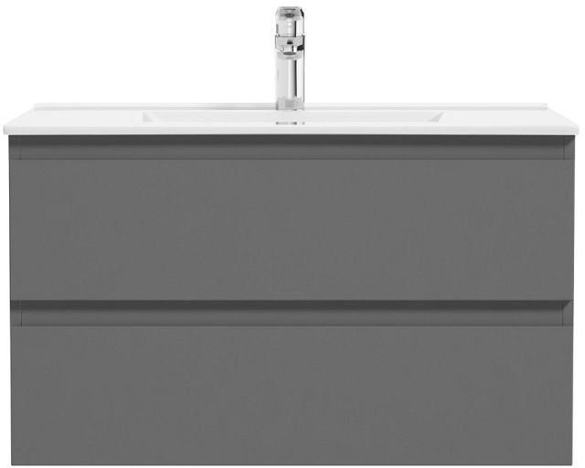 Oltens Vernal szafka 80 cm podumywalkowa wisząca grafitowa 60001400