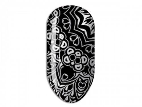 Nail Art Stikers Mollon Pro F087S naklejki do zdobienia