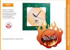 Zegar reklamowy na bazie PCV
