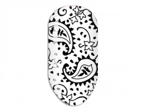 Nail Art Stikers Mollon Pro F090B naklejki do zdobienia