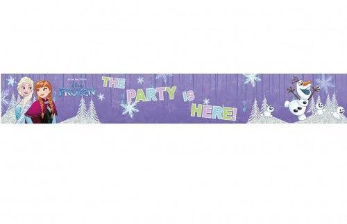 Baner, plakat urodzinowy Kraina Lodu, Frozen